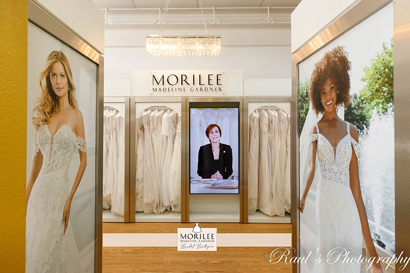 Bridal Connection Stone Oak - Morilee In Store Boutique - Incredible Wedding Gown Selection