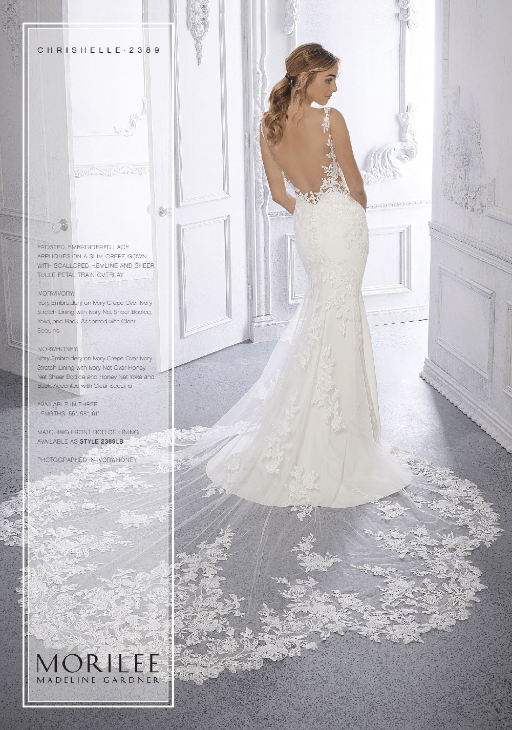 Morilee Boutique - Bridal Connection Stone Oak - Chrishelle Gown Back