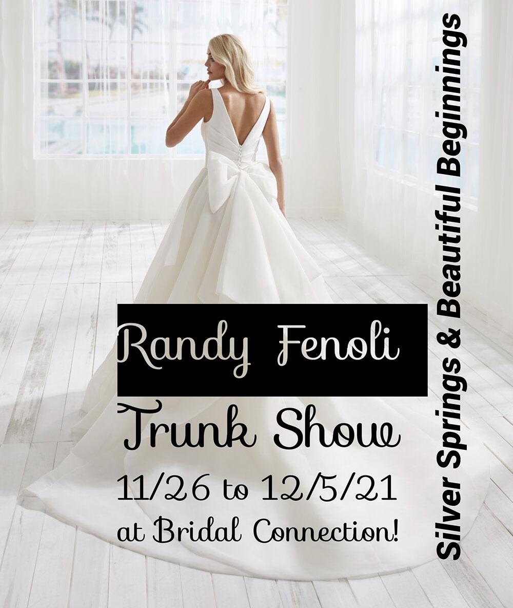 Randy Fenoli Trunk Show - November - December 2021 at Bridal Connection
